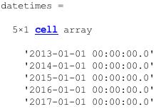 MatLab   Axibase Time Series Database - ATSD
