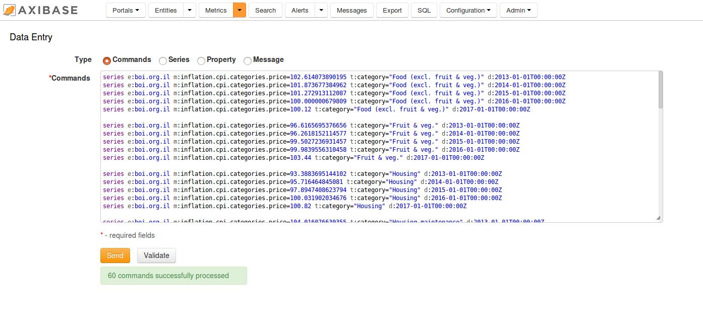Pentaho Report Designer | Axibase Time Series Database - ATSD