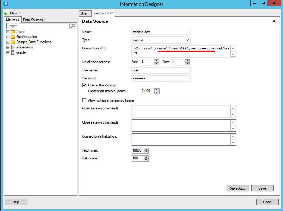 TIBCO Spotfire | Axibase Time Series Database - ATSD