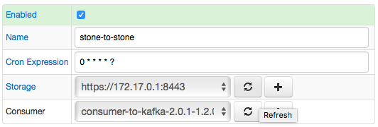Kafka job settings