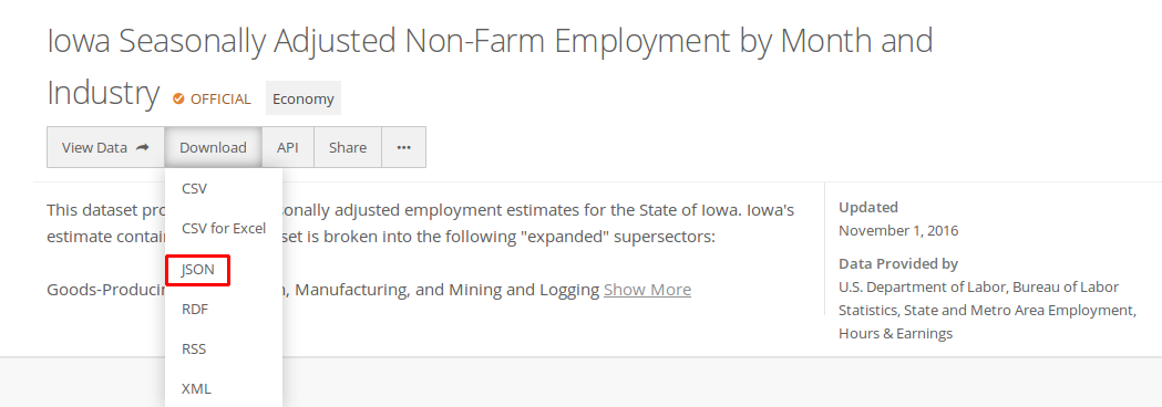 Analyzing and Combining Iowa Employment and Consumer Price