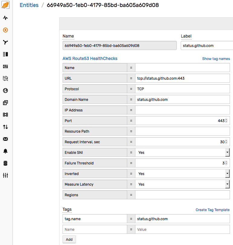 How to Create Uptime Reports for AWS Route 53 Health Checks