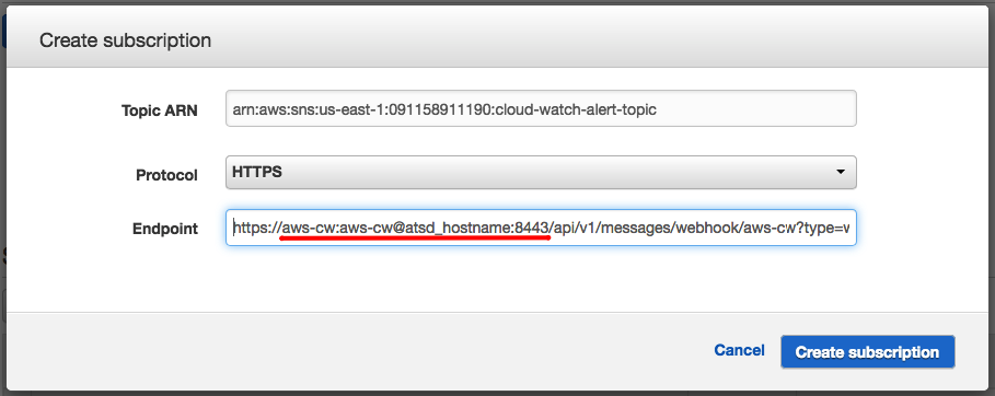 Configuring Launch Notifications for AWS Resources | Axibase